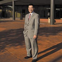 Tony Pham, 36, Assistant City Attorney, City of Richmond. Photo by Ash Daniel.